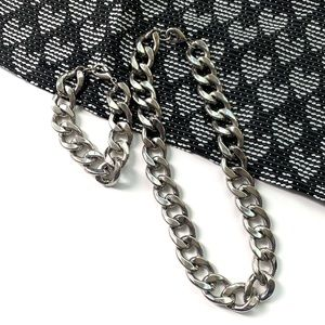 | new • katie link necklace & bracelet set |